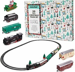 20 Pack Christmas Train Set Around Tree Decoration Xmas Festive Ornament Gift