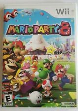 Mario Party 8 Nintendo Wii game COMPLETE IN CASE 2007 Tested Working