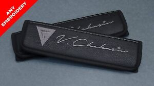 Car Seat Belt Shoulders fits Mercedes Benz AMG Custom Embroidery Stitches