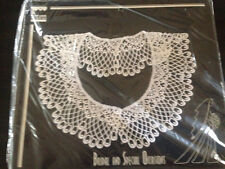"""LACE COLLAR ST LOUIS TRIMMING 10""""X7"""" BRIDAL, COSTUME OR SPECIAL OCCASION"""