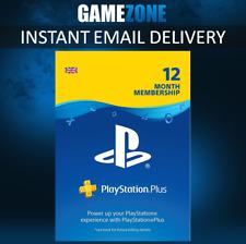 365 Days PlayStation Plus PSN Membership UK - PS Store 1 Year Code - PS4 Instant