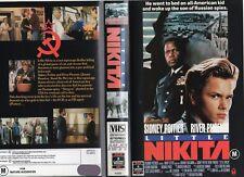 LITTLE NIKITA - River Phoenix-  VHS -PAL -NEW-Never played! -Original Oz release