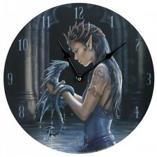 Decorative Wall Clock Water Dragon by Anne Stokes 726549098369