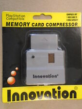 Turn any 1 Meg to a 4 MB  Memory card w/the Compressor PS1 PSX Sony PLAYSTATION