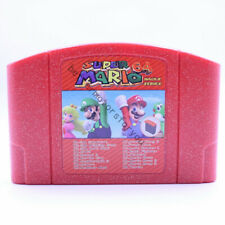 Super Mario 64 Hacks Series 18 in 1 Cartridge Games N64 Multi-cart NTSC version
