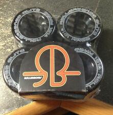 Rollerbones Art Elite Competition Roller Skate Wheels Set of 8 62mmX30101a BLACK