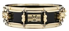 PDP Drums 4x14 Eric Hernandez Piano Black lacquer Maple snare with gold hardware
