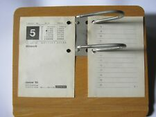 Kalender  Holzuntersatz 333 für Umlegekalender Kalender Zeitplansysteme