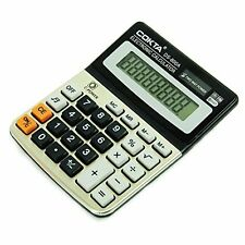 MS025- Business & Office Electronic Calculator W/ Sound, Tilted Screen