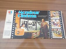 Jeu de société Monsieur cinéma - Jeu MB - 1976 Rare - 100% COMPLET - Tchernia
