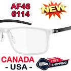 ADIDAS AF46 6114 54 SPX LITEFIT CRYSTAL BLACK OPTICAL FRAME EYEWEAR EYEGLASSES <br/> NEW & 100% AUTHENTIC FAST & FREE CANADA USA SHIPPING