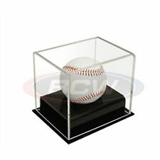 (1) BCW Deluxe Acrylic Baseball Holder Display Case - UV Protection