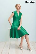New Phase Eight Danessa Green 1950s Fit & Flare Cocktail Party Dress Size 20