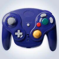 GameCube Controller Wireless Purple for Nintendo GC RF Console Joypad Gamepad
