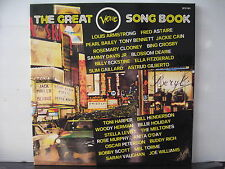 Louis Armstrong Fred Astaire Oscar Peterson The Great Verve Song Book LP Box Set