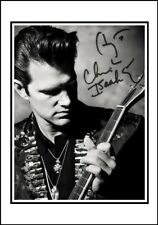 Chris Isaak, Autographed, Cotton Canvas Image. Limited Edition (CI-400)