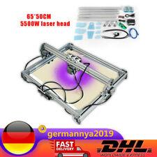 Router Laser gravur maschine CNC Laser engraver 5500 mW Laserkopf 65*50CM DE