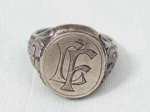 Silber Siegelring 835 Silber