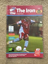 Scunthorpe United v Yeovil Town - Coca~Cola League 2  2004/05 Programme