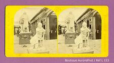 VUE STÉRÉO VIEW : EXPO UNIVERSELLE 1867 PARIS , BEAUX ARTS, SECTION ITALIE-L153