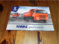 KAMAZ Full Line programm range Truck LKW Camion brochure prospekt catalogue