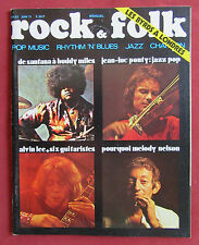 ROCK AND FOLK N° 53   JUIN 1971  GAINSBOURG MELODY NELSON