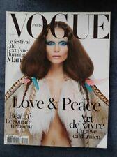 VINTAGE VOGUE PARIS MAGAZINE November 2010