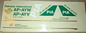 Desk display Aircraft model LARGE  DECAL Westway Or Skyland??? PIA