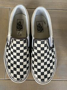 Checkerboard Classic Vans Size 7 40