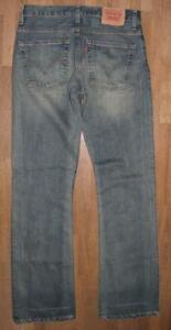 """lange LEVI`S 507 Herren- JEANS / LEVIS Blue-Jeans in blau in W33"""" /L36"""""""
