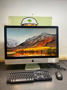 "Apple iMac 27"" INTEL Core i5 4GB RAM 1TB HDD A1312 WIDESCREEN HIGH SIERRA #3H"
