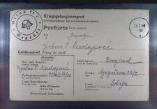 Camp Oflag VIC Osnabrück 1943 POW Prisoner War Helmet Fire Brigade Feuerwehr K3