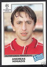 PANINI CALCIO ADESIVO-UEFA CHAMPIONS LEAGUE 1999-00 - N. 181-OLYMPIAKOS