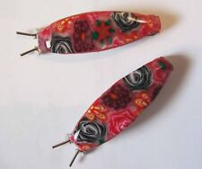 NEW PAIR OF ROUNDED GIRLS HAIR CLIP BARRETTE BY MYFIORI