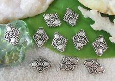 40PCS Tibetan silver Spiral diamond spacer bead FC10426