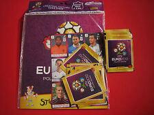 Panini Euro EM 2012 Starterpack 10 + 10 Tüten + 2 Bögen EURO 12