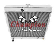 1967 68 69 Dodge Coronet 4 Row Champion CA Radiator
