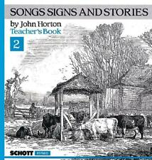 Songs Signs And Stories Vol. 2 John Horton Learn to Play MUSIC BOOK