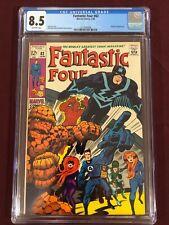 FANTASTIC FOUR 82 CGC 8.5 Stan Lee Jack Kirby Sinnott 1969
