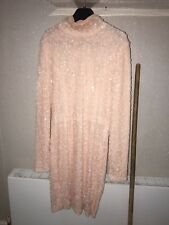 Celeb Boutique Sequin Pink Peachy Going Out Dress