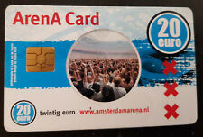 Amsterdam Arena Card 2004 20 Euro Amsterdam Arena Grolsch