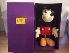 "MIB Disney 75 Years of Love & Laughter MICKEY MOUSE 13"" PLUSH DOLL NWT WDW"