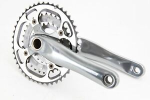 USED FSA Afterburner Mega Exo 3x9 Speed Crankset 175mm 44/32/22 Mountain Bike