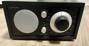 MINT! Tivoli Audio Henry Kloss Model One Am/ FM Table Radio, Classic/ Black