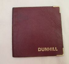 Authentique portefeuille - porte-cartes  DUNHILL cuir vintage