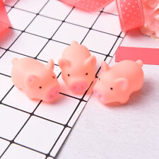 3Pcs Pink Pig Soft Animal Squishy Healing Squeeze Toy Gift Stress Reliever SW