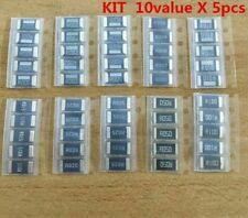 Alloy Resistance Chip Resistor Smd Fixed Electronic Sampling Kit Sets 50pcslots