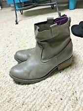 Girls Cherokee Gemma Wool Slip-on Winter Boots Gray 128R hm NEW