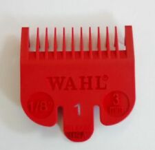 Wahl Clipper Guard Attachment Guard - Size 1 (3mm) Red