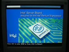 Intel SDS2 Server Board Socket 370  with dual Pentium III 1.4GHz CPU and 1Gb RAM